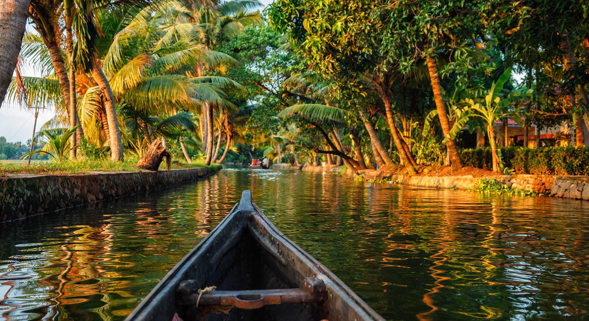 Honeymon in Backwaters