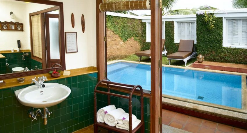 top private pool villas in Kerala